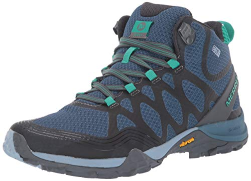 Merrell Women's Siren 3 MID WP Hiking Boot, Bluestone, 8 M US