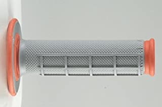 Puño De Manillar Mx Renthal Dual Compound 50-50 - Soft-Firm Anaranjado (Default , Anaranjado)