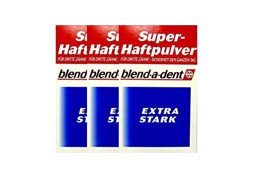 3x BLEND A DENT Super Haftpulver extra stark 168605 50 g PZN 3384395