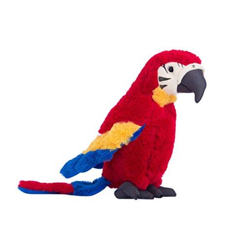 NUOBESTY Juguete Relleno Loro marioneta Animal Peluche