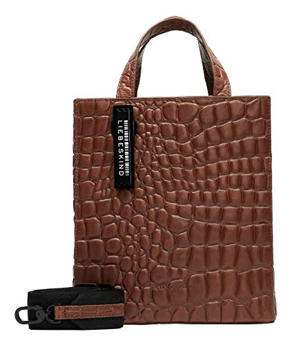 Liebeskind Berlin Paper Bag Tote, Shopper. Donna, New Bourbon 2812, Small