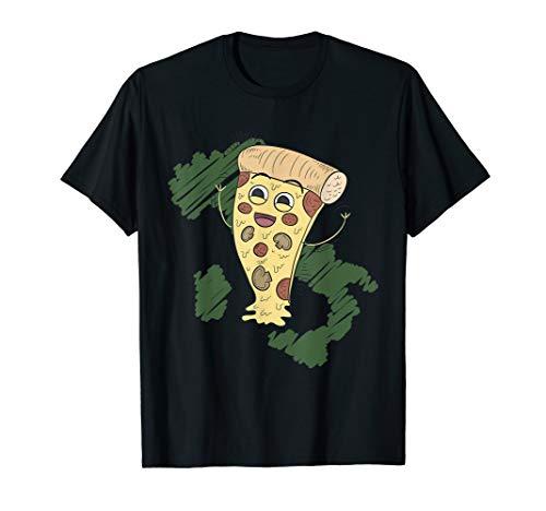 Lustiges Pizza Italien Italiener Fast Food Pizza Stück FUN T-Shirt