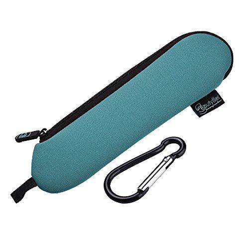 Beautyflier Neopren-Bestecktasche für Besteck, 3 mm dick, zusammenklappbar, Bestecktasche für Reisebesteck (Besteck nicht im Lieferumfang enthalten)