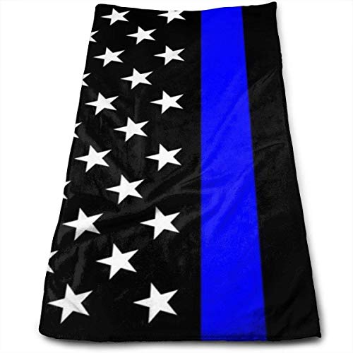 Cute Bi Línea Azul Delgada Toallas de Bandera de EE UU