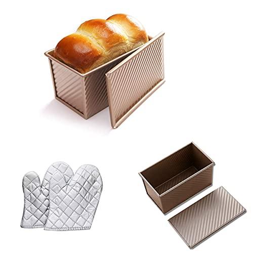 Sartén rectangular antiadherente, Cake Pizza Pan, Baking Pan, Molde pan tostado mejor para el hogar Bakinghouse Hotel de pan para pan metal para hacer pasteles y tostadas