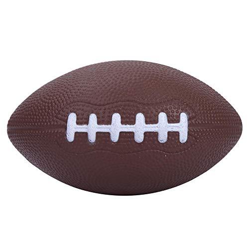 VGEBY1 Tamaño 1 Cuero de PU Pelota de Rugby Balón de Grado Profesional Fútbol Americano Premium para Interiores/Exteriores