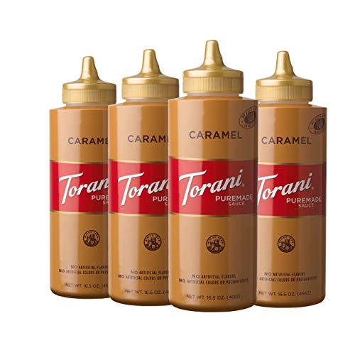 Torani Puremade Caramel Sauce, 16.5 Ounce (Pack of 4)