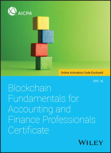 Blockchain Fundamentals for Accounting and Finance Professionals Certificate