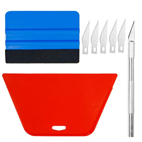 Art3d - Kit de herramientas para alisar papel pintado para pegar y pegar papel pintado, vinilo para aplicar azulejos