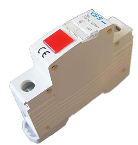 230V LED Leuchtmelder Rot Hutschiene Phasenkontrolle Meldeleuchte Signallampe