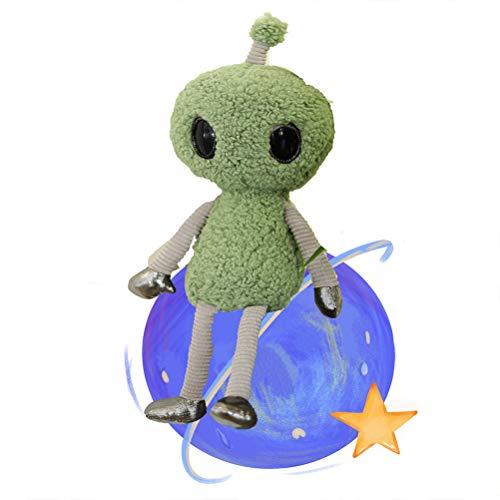 Peluche Extraterrestre - Juguete De Figura De Película,Juguetes De Peluche Alien,Figura Película Ciencia Ficción Alien con Antena Muñecas Educativas Peluche Regalos,Toy Story Muñeca Peluche Infantil