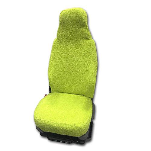 Universal Schonbezug aus Frottee Farbe: Kiwi für Pilotsitze und Wohnmobile