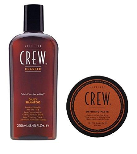 American Crew Daily Shampoo 250ml und Defining Paste 85g