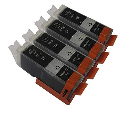 JINSUO GWTRY PGI-450 IGP 450 CLI 451 Cartucho de Tinta Compatible en Forma for Canon PIXMA IP7240 MG5440 MG5540 MG6440 MG6640 MG5640 MX924 MX724 IX6840 (Color : 4BK)