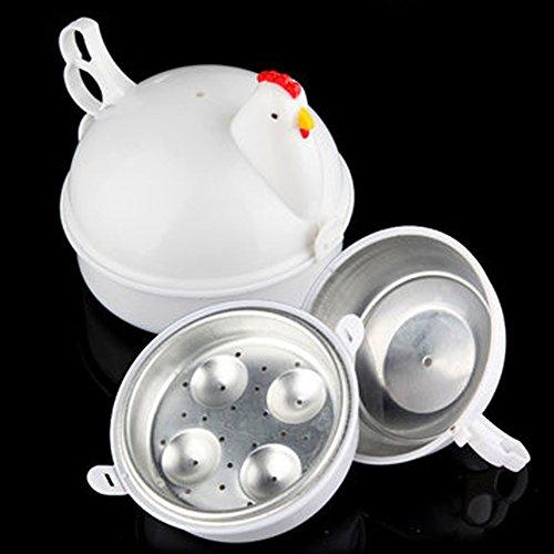 Microondas Perfectamente Hervidor por Ware Nuevo 4 Huevos Regalo para Madre / Mamá Madre