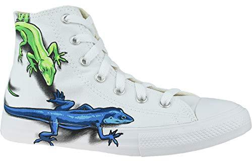 Converse 667943C_31, Zapatos de Tenis Unisex niños, White, EU