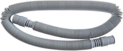 Cornat Maschinen-Ablaufschlauch - 80 - 280 cm ausziehbare Länge - Temperaturbeständig bis +100°C - Aus robustem Kunststoff / Abwasserschlauch für Spül - & Waschmaschine / Spiralschlauch / T357503