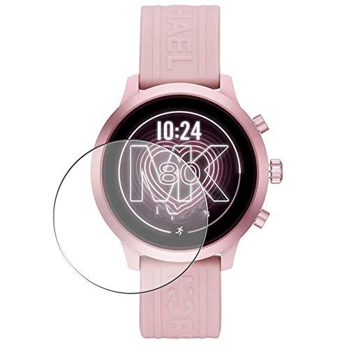 Vaxson 3-Pack Vetro Temperato Pellicola Protettiva, compatibile con Michael/Kors/Access/MKGO MKT5070 Smart Watch, 9H Screen Protector Film Nuova Versione