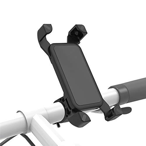 CS Bicicleta Motocicleta Titular de Teléfono Funda Bicicleta Teléfono Bolsa Ajuste para iPhone XS 11 Samsung S8 S9 Soporte Móvil Soporte Soporte Funda Scooter (Color : Black 2)