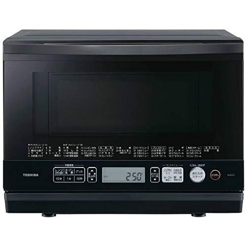 東芝 (TOSHIBA) スチームオーブンレンジ 「石窯ドーム」 (26L) ER-SD70-W グランブラック ER-SD70 (K) ERSD70K