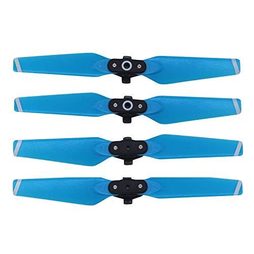 RC GearPro Props Palas Hélices de reemplazo 4730F Set Compatible para dji Spark Drone, 4PCS / Set (Blue)
