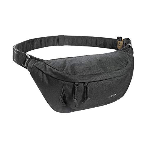 Tasmanian Tiger TT Modular Hip Bag II Taktische universelle Hüft-Tasche mit 5 Litern Volumen, DREI RV-Fächern und Molle-Klett Panel, Gürtel-Tasche für Einsatz, Sport, Trekking, Outdoor, Schwarz