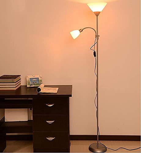 Vertikal Doppelscheinwerferlampe Schlafzimmer Kopf Auge Boden Wohnzimmer Stehleuchten,A