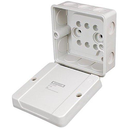 Hensel DE9340 kabelhasplaat tot 4 mm² 3ph. 6qmm doos, behuizing voor montage op de muur/plafond 4012591602712 2 Stück Kabelabzweigkasten