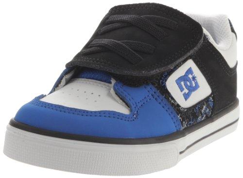 DC Pure V Toddler Shoes - Black/Royal