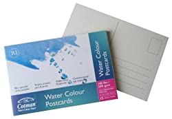 Winsor and Newton Cotman watercolor postcards