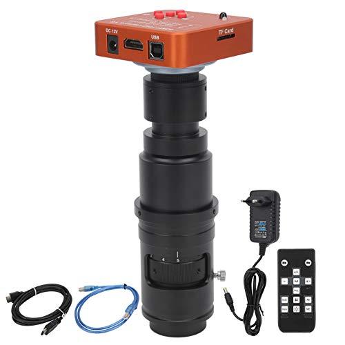 Cámaras industriales, Cámara para microscopio industrial, UE AC100~240V para reparación de PCB Laboratorio industrial de componentes electrónicos