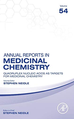 Compare Textbook Prices for Quadruplex Nucleic Acids As Targets For Medicinal Chemistry Volume 54 Annual Reports in Medicinal Chemistry, Volume 54 1 Edition ISBN 9780128210178 by Neidle, Stephen