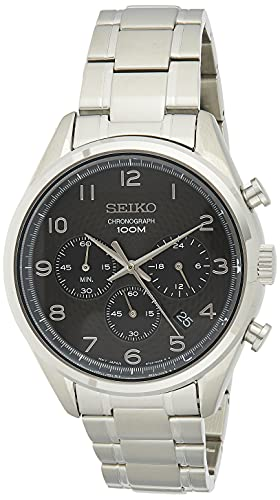 Seiko Orologio Cronografo Quarzo Uomo con Cinturino in Acciaio Inox SSB295P1