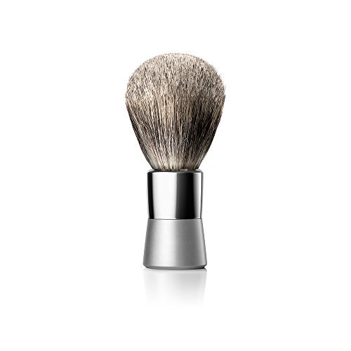 of shave brushes dec 2021 theres one clear winner Luxury Shaving Brush by Bevel - Vegan Hair Brush, Works with Straight Razor, Safety Razor, and More to Prevent Razor Bumps