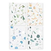 1個セットノート ソフトコピーブック メモ帳 かわいい 文房具 シンプルなコイル 日記帳 大学生