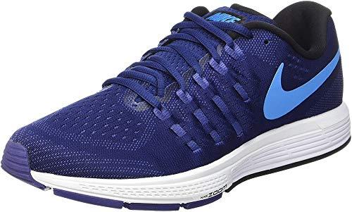 Nike Air Zoom Vomero 11 Lauchuhe, Scarpe Running Uomo, Blu (Loyal Blau/Blau Glow-Dunkel Purple Dust/Weiß), 42.5 EU