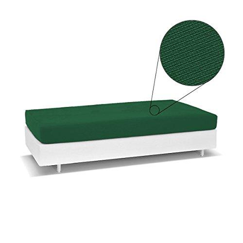 Biancaluna Living Genius Tagesdecke für Einzelbett, schmutzabweisend, R454, Olivgrün