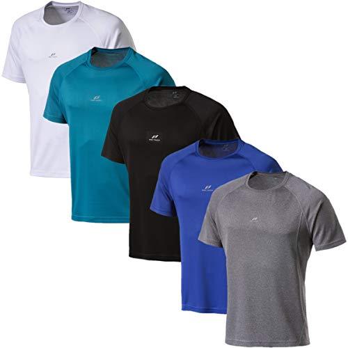 Pro Touch Martin II T-Shirt pour Femme Homme, Gris, XL