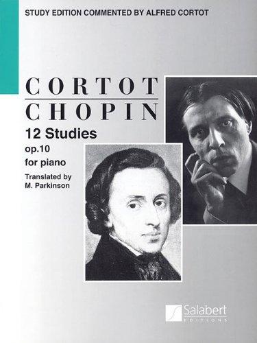 Chopin: 12 Studies for Piano, Op. 10