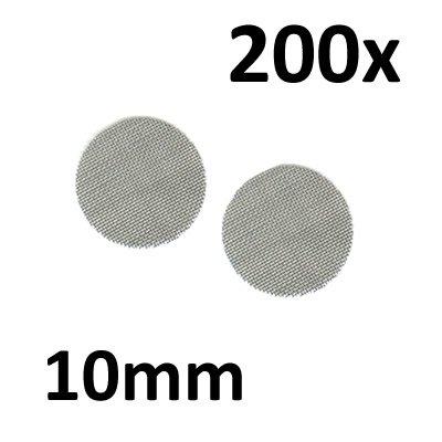Black Leaf 200 Stahlsiebe D 10mm (2x100er Beutel) Einlegesiebe