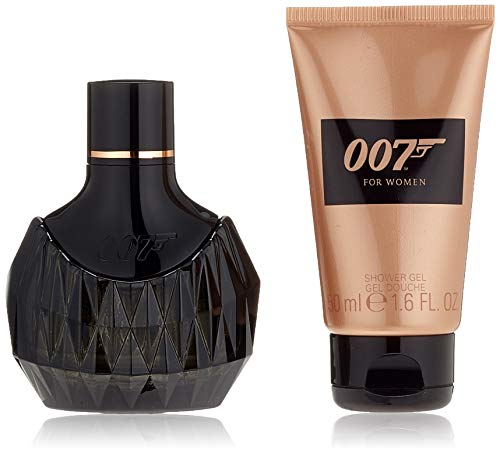 James Bond 007 Geurset voor Woman I Eau de Parfum 30 ml + Showergel 50 ml, per stuk verpakt (1 x 80 ml)