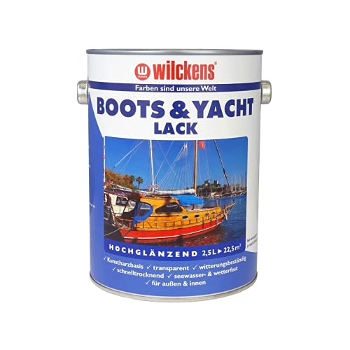 Dynamic24 u. Yachtlack 2,5 klar Holz Bild