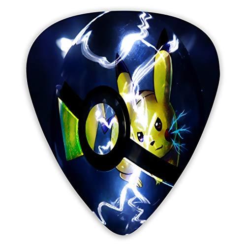 Médiator de guitare Pokémon personnalisé, boîte cadeau, cadeau de mariage, cadeau de Noël ou d'anniversaire