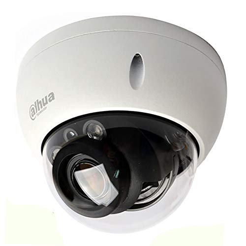 4MP PoE IP Network Camera IPC-HDBW4433R-ZS, 2.7mm ~13.5mm Varifocal Motorized Lens, 165ft IR Better Day/Night Outdoor Security Surveillance Dome Camera, SD Slot IK10 IP67 H.265 ONVIF