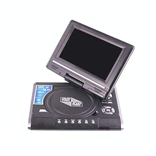 LG&S Reproductor De DVD Portátil De 7,8 Pulgadas Reproductor Multimedia Digital U Drive Play con FM TV Tarjeta De Juego Función De Lectura VCD DVCD MP4 MP5