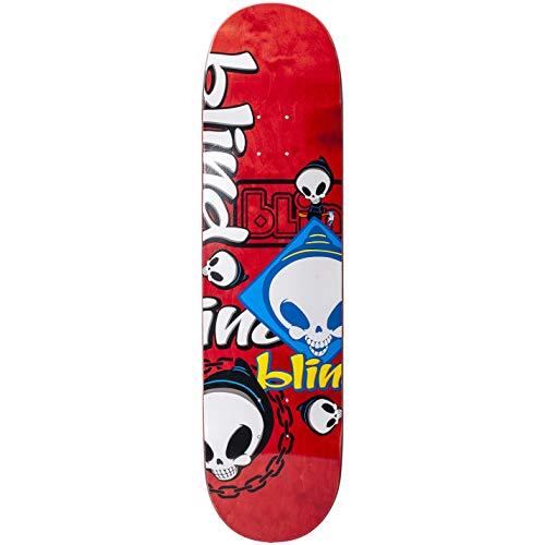 Blind Random Placement Skateboard-Brett, 21 cm, Rot