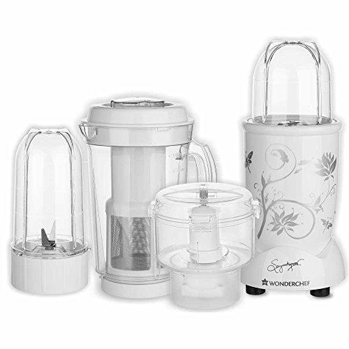 Wonderchef Nutri Blend Complete Kitchen Machine, 22000 RPM Mixer Grinder, Blender, Chopper, Juicer,...