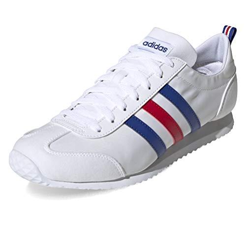 adidas Vs Jog, Zapatillas para Hombre, Ftwbla Azurea Escarl, 42 EU