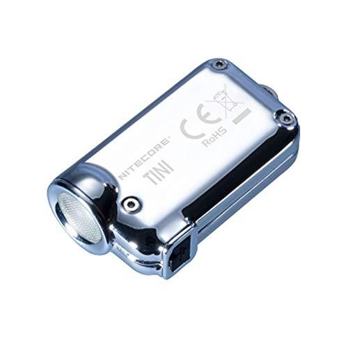 Linterna foco ajustable, super luminoso LED recargable USB mini antorcha llavero Adjunto regalo de luz for él, de bolsillo mini linterna LED for dos interruptores Llavero linternas USB recargable Anto