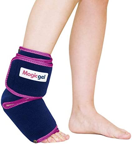 Foot Ankle Ice Pack with Professional Wrap Compression Cold Therapy Reduces Swelling Inflammation product image